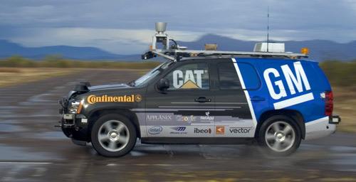 Carnegie Mellon's BOSS DARPA GM Tahoe