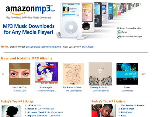 First Impressions: Amazon MP3 Beta — PaulStamatiou com