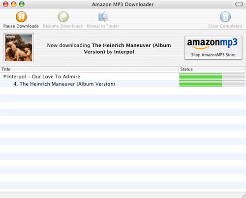 Amazon MP3 Downloader