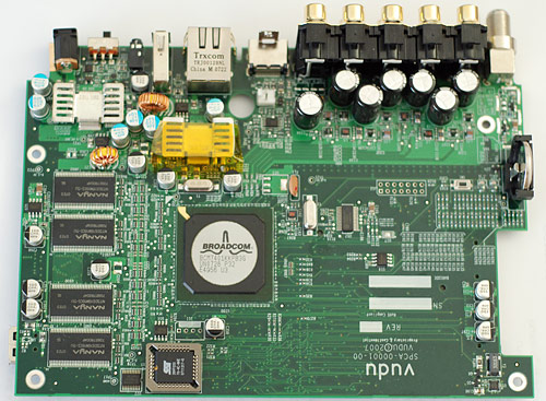 Inside the Vudu - motherboard