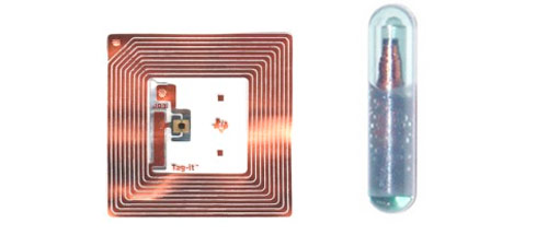 Two types of RFID tags