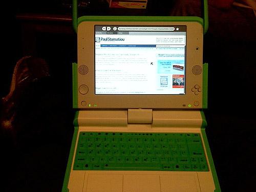 OLPC with PaulStamatiou.com