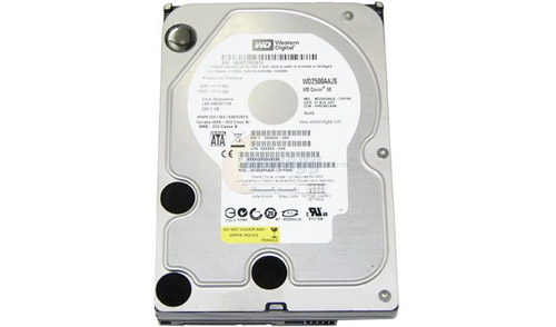 Western Digital Caviar SATA 250GB HD