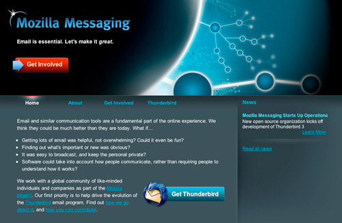 Mozilla Messaging Ignores the Web App Trend — PaulStamatiou com