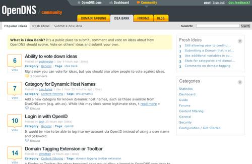 OpenDNS - Idea Bank