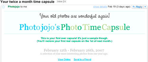 Photojojo Time Capsule