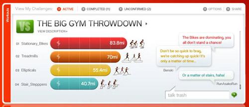 Nike Plus Gym
