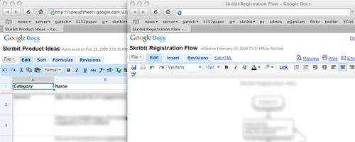 Skribit Google Docs