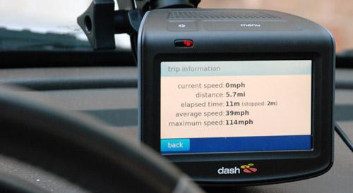 Dash Express Trip Info