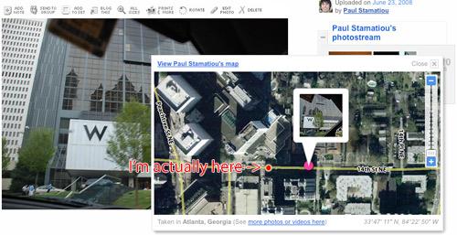 Eye-Fi Explore: Geotag on Flickr