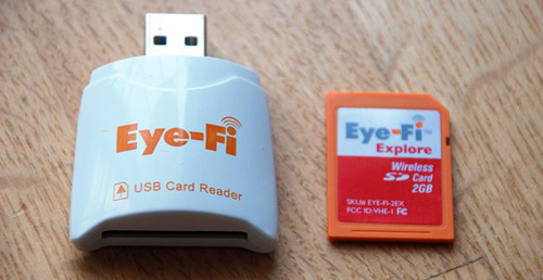 Eye-Fi Explore: What's Included