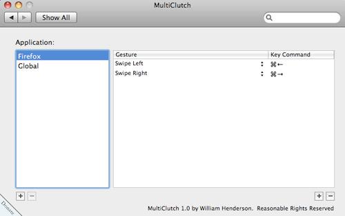 MultiClutch Firefox