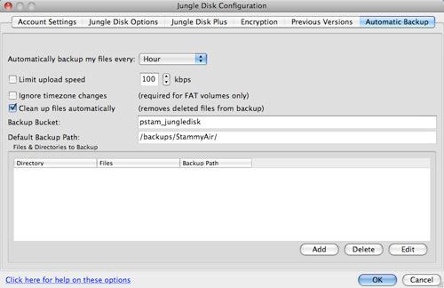JungleDisk Backup