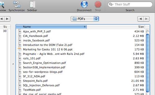 JungleDisk rsync s3 PDFs folder