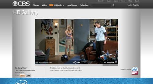 CBS HD Video Player