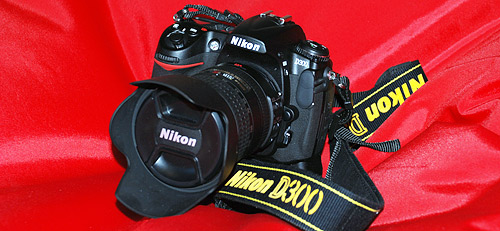 The Nikon D300 Digital SLR (DSLR) Camera