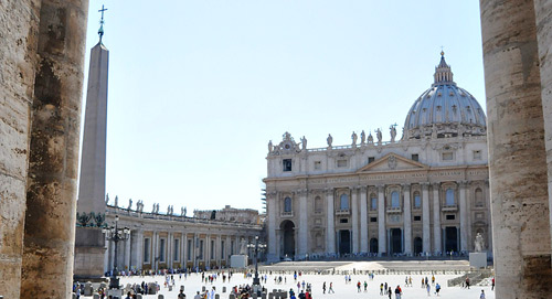 The Vatican in Rome, Italy