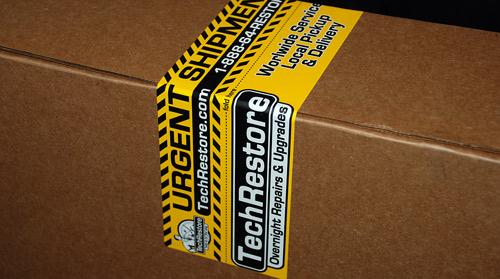 TechRestore Box Label