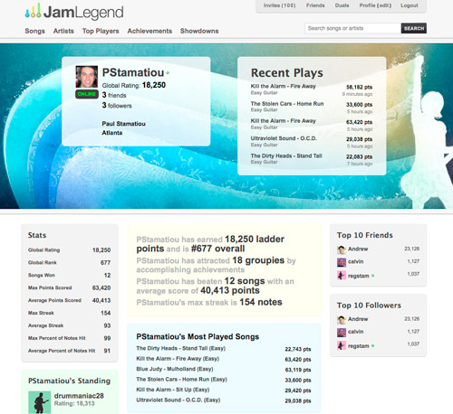 JamLegend Profile for Paul Stamatiou