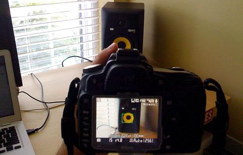 Nikon D90 Live View