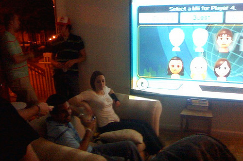 Nintendo Wii Party - Projector Screen