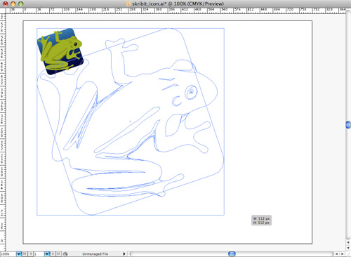 Skribit Icon Resizing in Adobe Illustrator