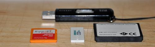 Kingmax Super Stick 8GB USB Flash Drive Size Comparison