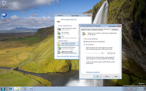 ReadyBoost: Kingmax Super Stick with Windows 7 Beta 1