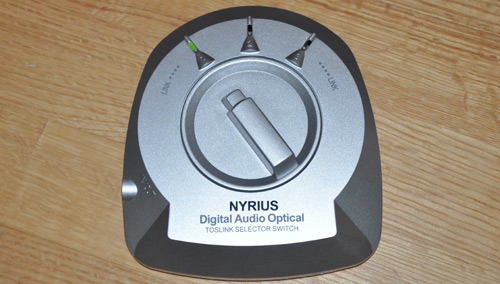 Nyrius Toslink Selector