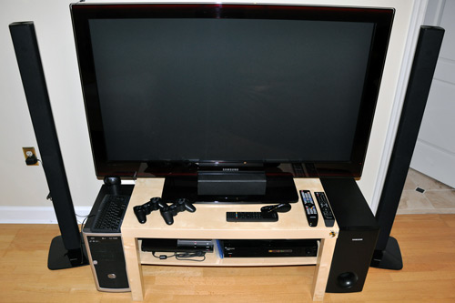 Paul's HD Home Theater System