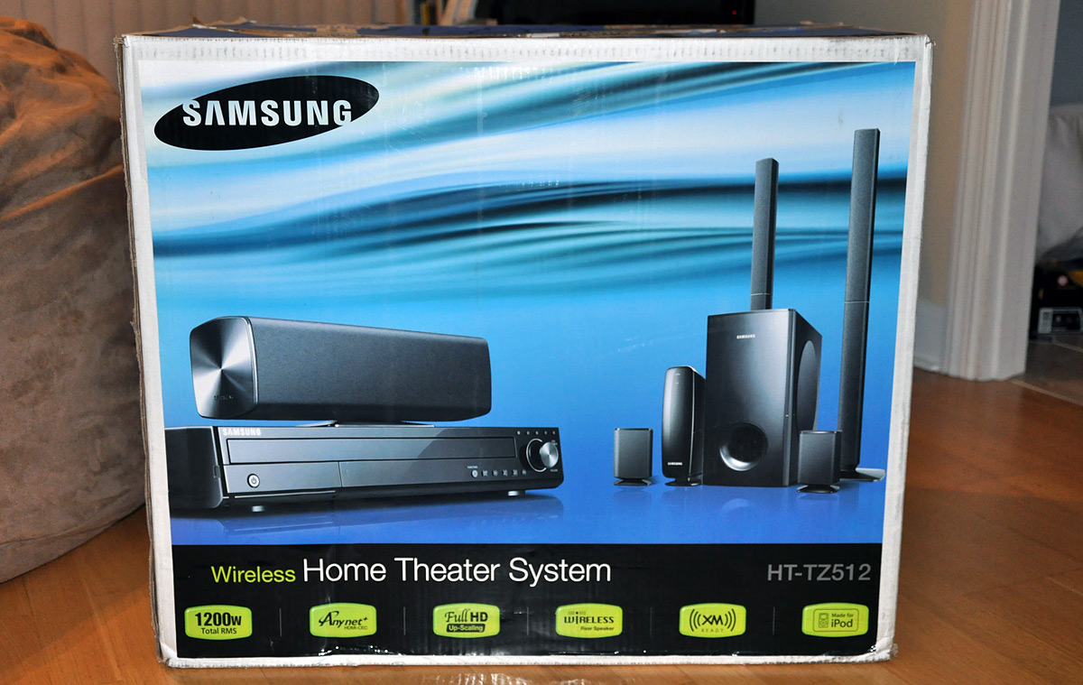 How to setup a home sound system - Samsung Ht Tz512t Home Theater System