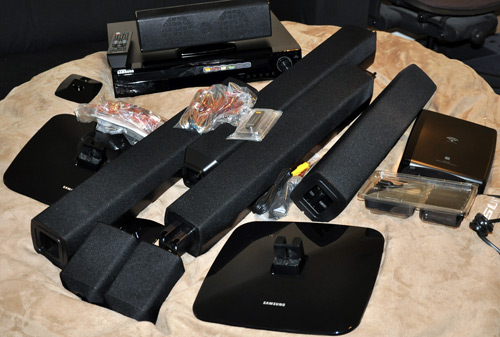 Samsung HT-TZ512T Home Theater System Unboxing