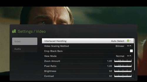 Detailed Boxee Video Playback Settings