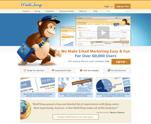 MailChimp - email marketing made easy