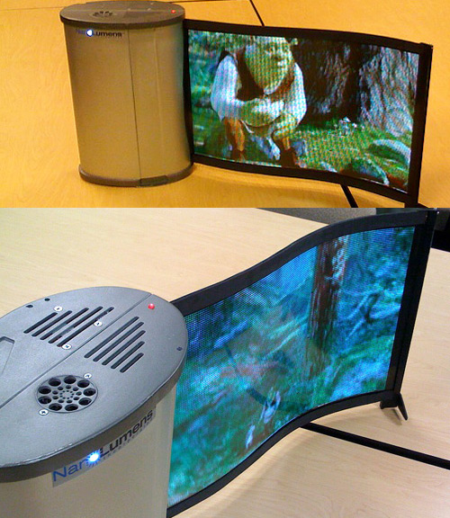 NanoLumens flexible video display