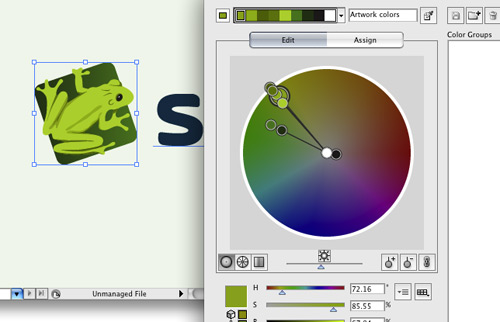 Skribit Logo Color Tweaking in Adobe Illustrator
