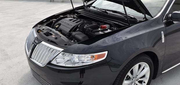 Engine Bay - 2009 Lincoln MKS Luxury Sedan