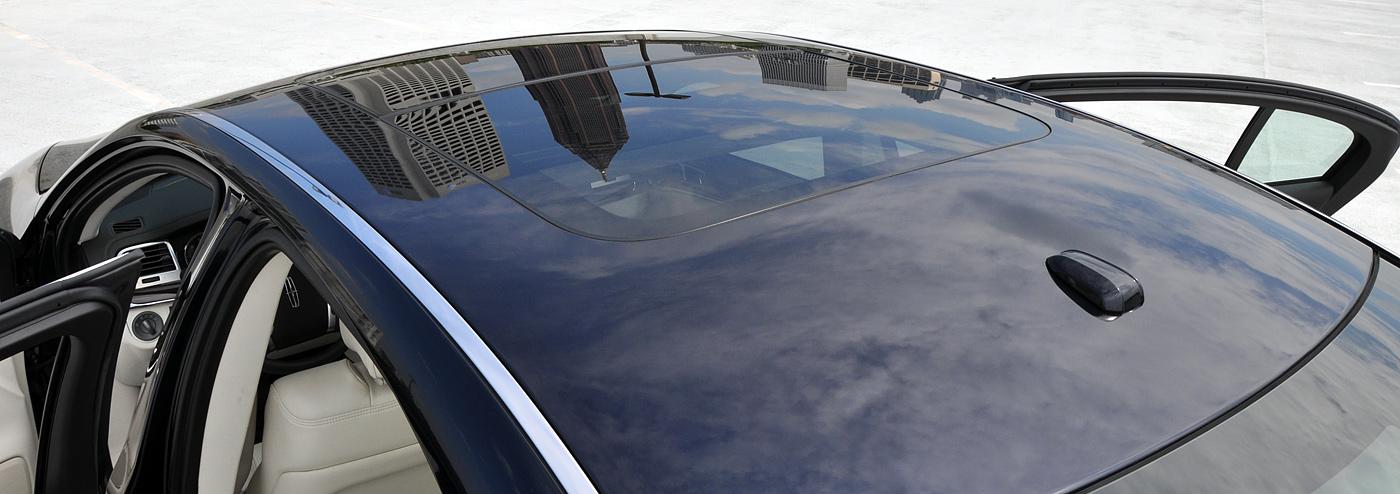 Dual Panel Moonroof 2009 Lincoln Mks Luxury Sedan