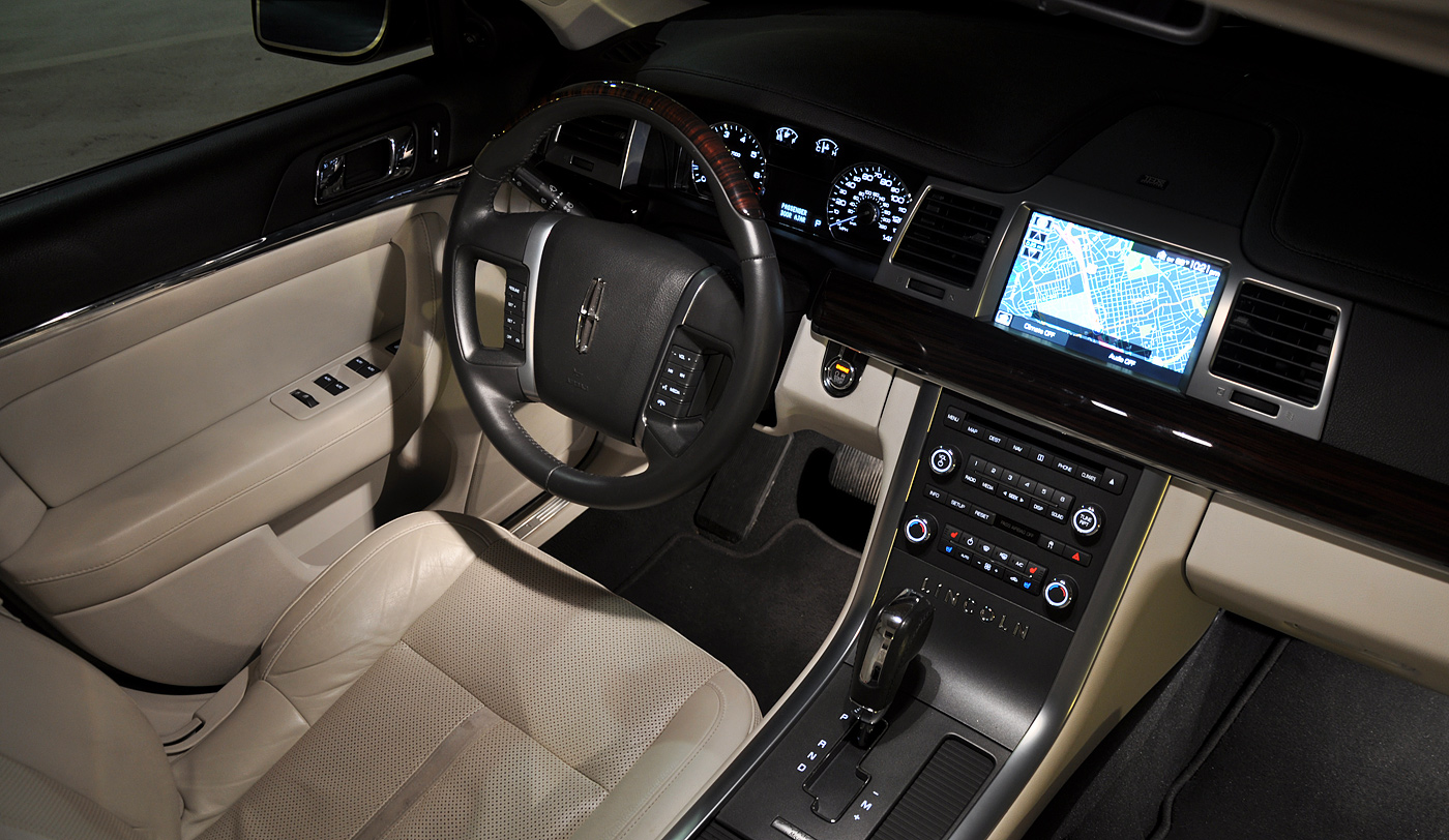 Review 2009 lincoln mks with microsoft sync for Pictures inside