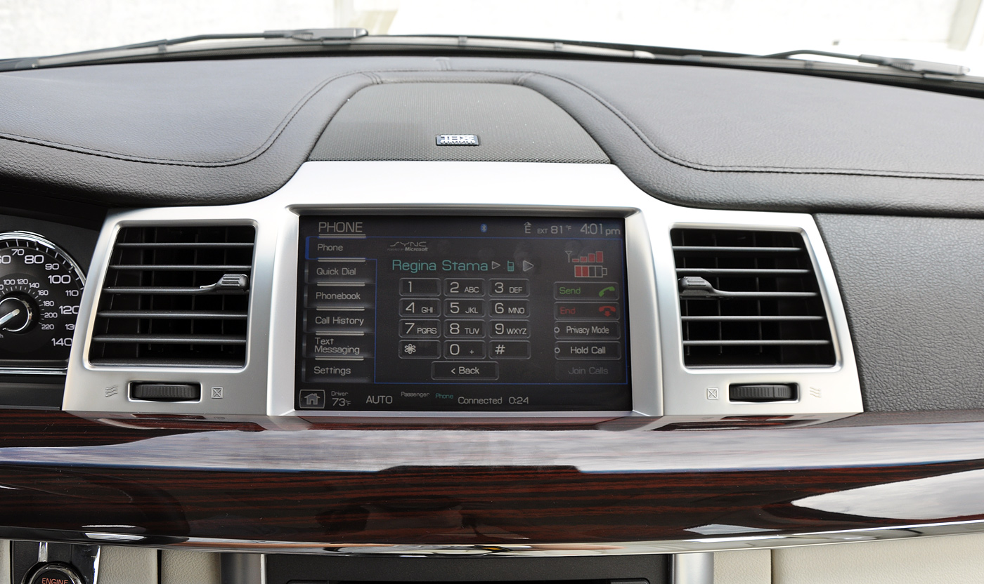 Review 2009 Lincoln Mks With Microsoft Sync