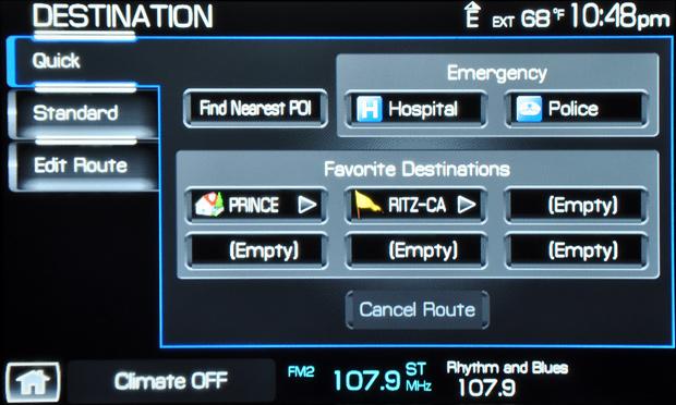 2009 Lincoln Mks Sync Dest 1