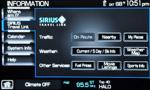 2009 Lincoln Mks Sync Sirius 150x90
