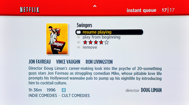 Roku Player - Browse Netflix, Movie View
