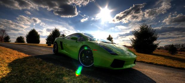 HDR Lamborghini Gallardo