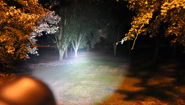 Neofab Legion II Flashlight Beam