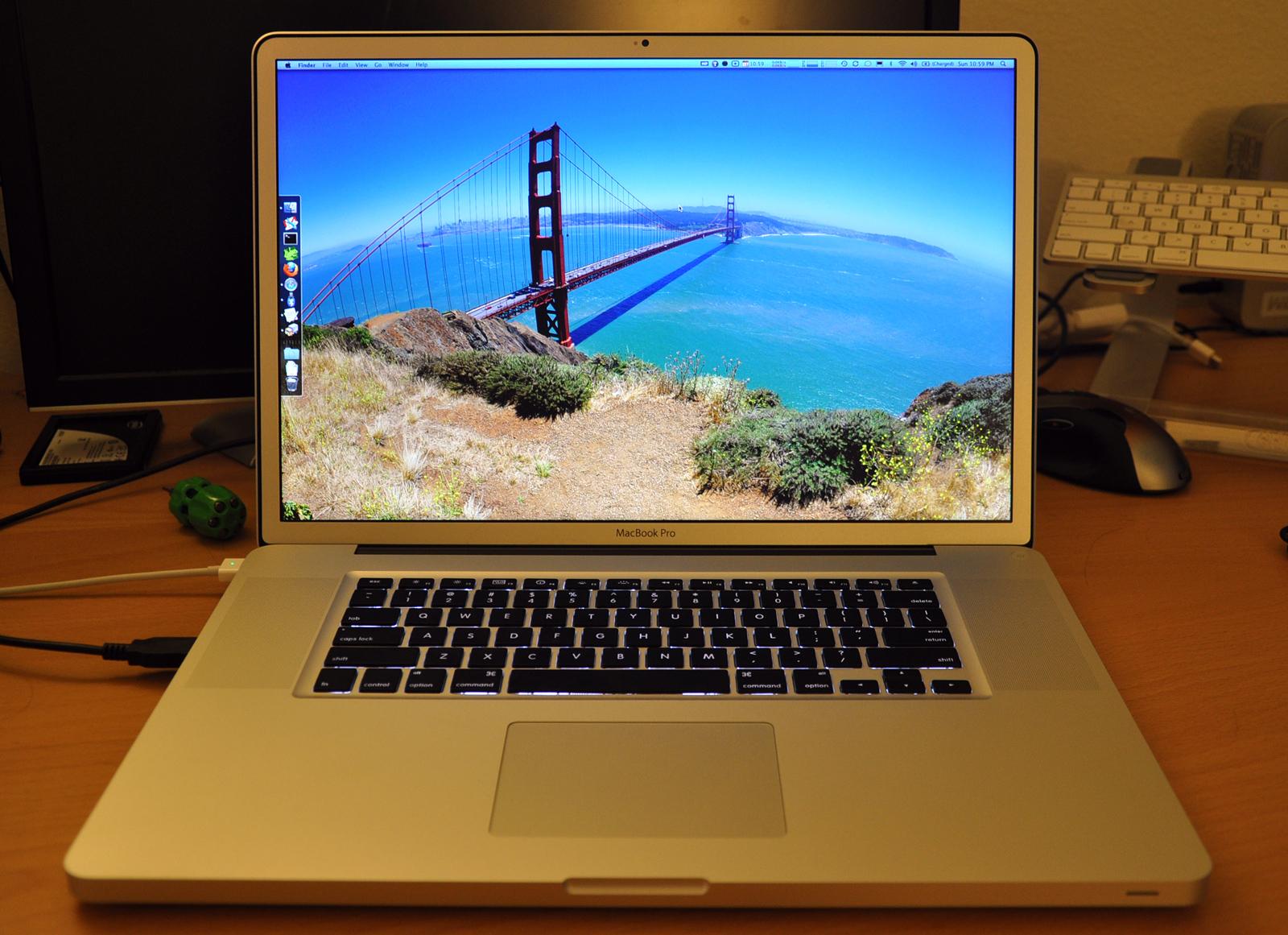 First Impressions: 17-inch Apple MacBook Pro 2009 (Unibody