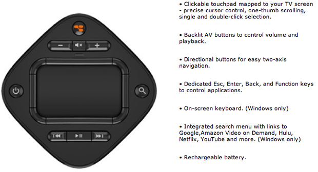 GlideTV Navigator Features