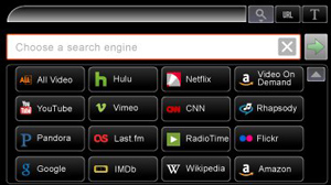 GlideTV's Windows-only search features