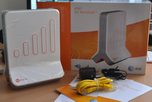 Unboxing the AT&T 3G MicroCell