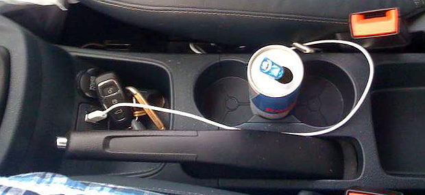 The Ford Fiesta Cup Holders